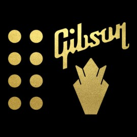 Gibson Crown Decal Pack Self Adhesive
