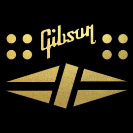 Gibson Diamond Decal Pack Self Adhesive
