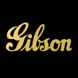 Gibson 40s Logo Water Slide Decal
