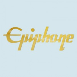 Epiphone Logo Gold Leaf Effect