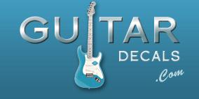 Epiphone Vintage Self Adhesive Decal - Guitar Headstock Logo